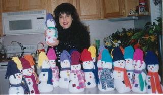 Dan's Snowman 1998