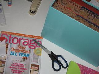Storage Magazine and File Folders