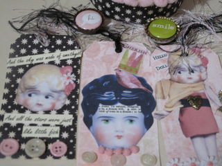 Pretty little doll tags