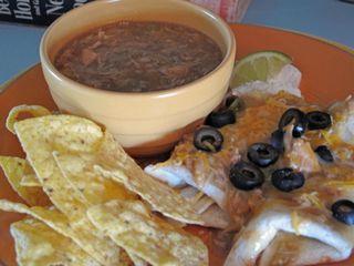 Chile Verde Burritos Enchilada Style!
