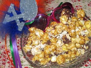 Chocolate Avalanche Popcorn