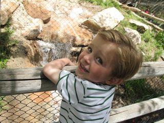 Jake at the zoo