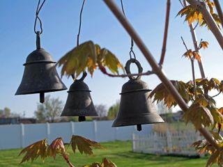 Three little bells......