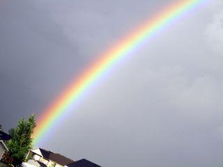 Thank God for rainbows....