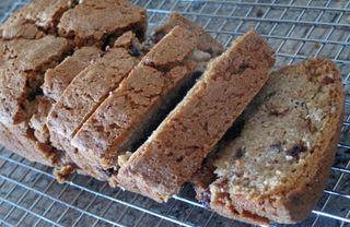 Chocolate Chip Pecan Zucchini Bread