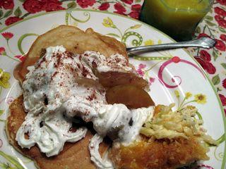 Applepancakesand potateos