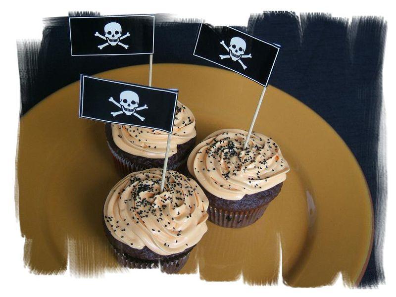Skullcupcakes