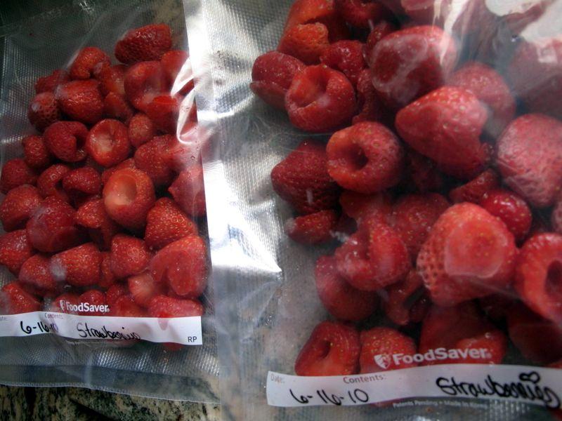 Frozenstrawberries