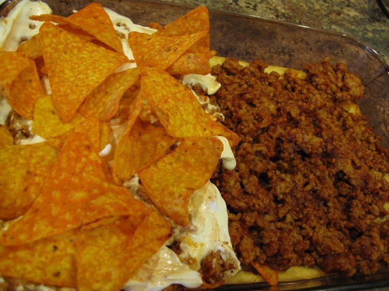 Crafty Crescent Lasagna Recipe — Dishmaps