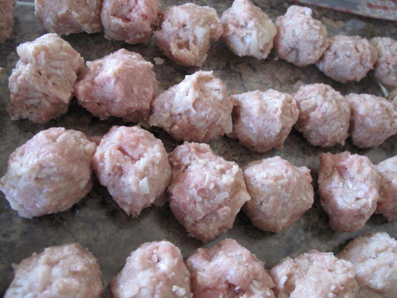 Ricemeatballs