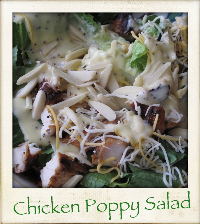 Chickenpoppysalad