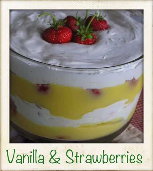 Vanilla&strawberries