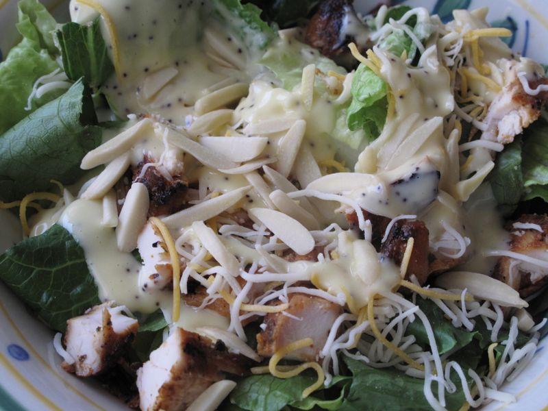 Chickenpoppysalad