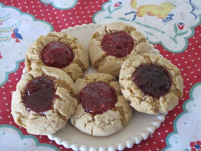 Pbutterjellycookies