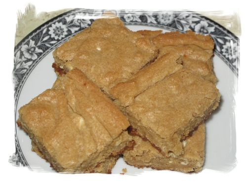 Vanilla Blondies
