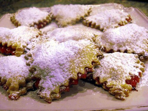 Cherry Heart Mini Pies
