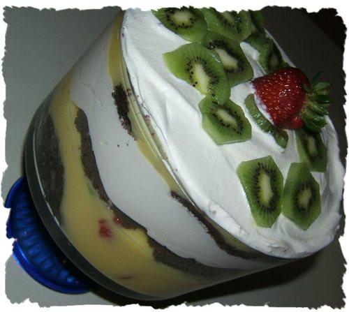 Heavenly Kiwi Dessert