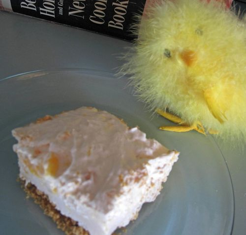 Peaches 'N Cream Cheesecake
